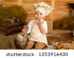photo project little baker. a... | Shutterstock . vector #1353916430