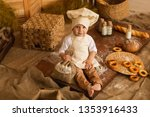 photo project little baker. a... | Shutterstock . vector #1353916433