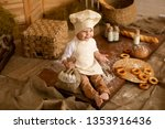 photo project little baker. a... | Shutterstock . vector #1353916436