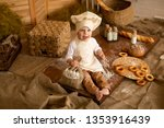 photo project little baker. a... | Shutterstock . vector #1353916439