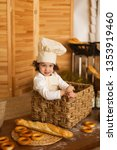photo project little baker.... | Shutterstock . vector #1353919460