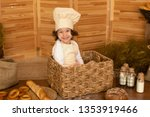 photo project little baker.... | Shutterstock . vector #1353919466