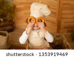 photo project little baker.... | Shutterstock . vector #1353919469