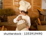 photo project little baker.... | Shutterstock . vector #1353919490