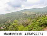 foothills of mount ai petri.... | Shutterstock . vector #1353921773