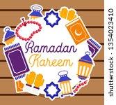 ramadan kareem illustration...   Shutterstock .eps vector #1354023410