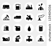 vector illustration of oil and... | Shutterstock .eps vector #135404336