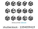a collection of fifteen...   Shutterstock .eps vector #1354059419