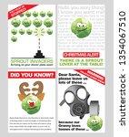 seasonal sprout fun spoof... | Shutterstock .eps vector #1354067510