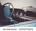 Close Up Image Of An Oldtimer...