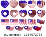 the collection of symbols for... | Shutterstock .eps vector #1354072793