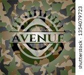 avenue on camouflage pattern   Shutterstock .eps vector #1354079723