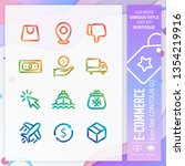 business icon set design vector ...