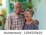 An Smiling Elderly Couple  Bot...
