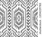 aztec seamless pattern. vector... | Shutterstock .eps vector #1354229783