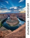Vertical View Of Horseshoe Bend ...