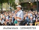 houston  texas   march 30  2019 ... | Shutterstock . vector #1354405733