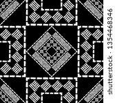 ethnic boho seamless pattern.... | Shutterstock .eps vector #1354468346