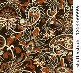 paisley seamless pattern.... | Shutterstock . vector #1354469996