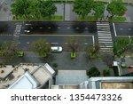 view from inside window of... | Shutterstock . vector #1354473326