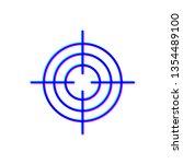 stereoscopic image target aim... | Shutterstock .eps vector #1354489100