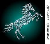 Silhouette Of Horse  Symbol...
