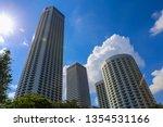 a shot of landmark buildings at ... | Shutterstock . vector #1354531166