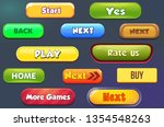 game user interface buttons...