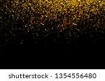 glitter gold bokeh colorfull... | Shutterstock . vector #1354556480