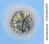 360 panorama high view of the...   Shutterstock . vector #1354566299