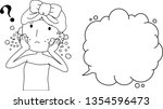 this is an illustration of a... | Shutterstock .eps vector #1354596473