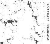 grunge black and white distress ... | Shutterstock .eps vector #1354611776