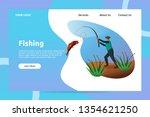 fisherman fishing at river...