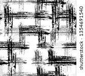 grunge cracked black and white... | Shutterstock .eps vector #1354691540