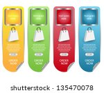 web sale banner set best for...   Shutterstock .eps vector #135470078