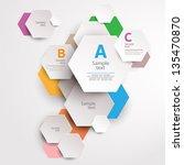 modern abstract design | Shutterstock .eps vector #135470870
