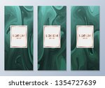 design templates for flyers ... | Shutterstock .eps vector #1354727639