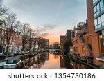 amsterdam  amsterdam  ... | Shutterstock . vector #1354730186