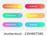 vector set of download and book ...   Shutterstock .eps vector #1354807580