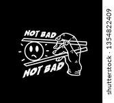 monoline badge cool  get it   | Shutterstock .eps vector #1354822409