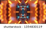 abstract technology background  ... | Shutterstock . vector #1354830119