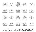 set of home icons  such as... | Shutterstock .eps vector #1354834760