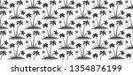 engraving style black hand... | Shutterstock .eps vector #1354876199
