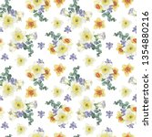seamless pattern from bright... | Shutterstock . vector #1354880216
