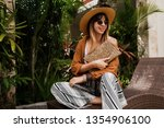 vacation time in asia.... | Shutterstock . vector #1354906100