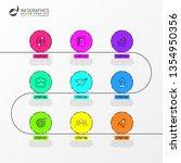 infographic design template....   Shutterstock .eps vector #1354950356