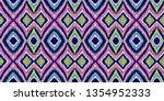 tribal pattern. ethnic print.... | Shutterstock .eps vector #1354952333