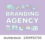 branding agency word concepts...