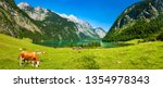 idyllic lake k nigssee in the... | Shutterstock . vector #1354978343