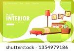 classic interior design banner. ...